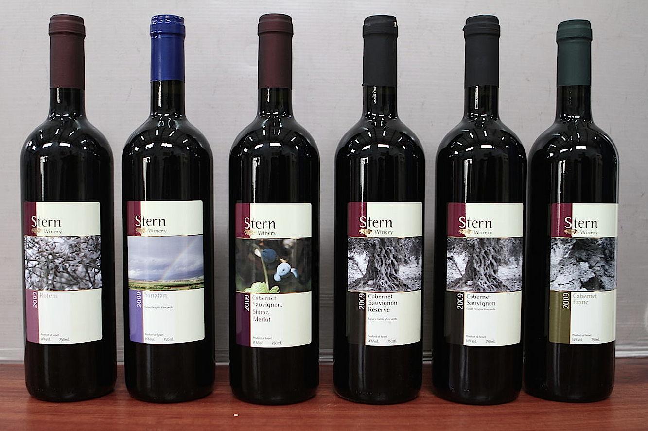 Современное коллекционно кошерное вино Израиля.