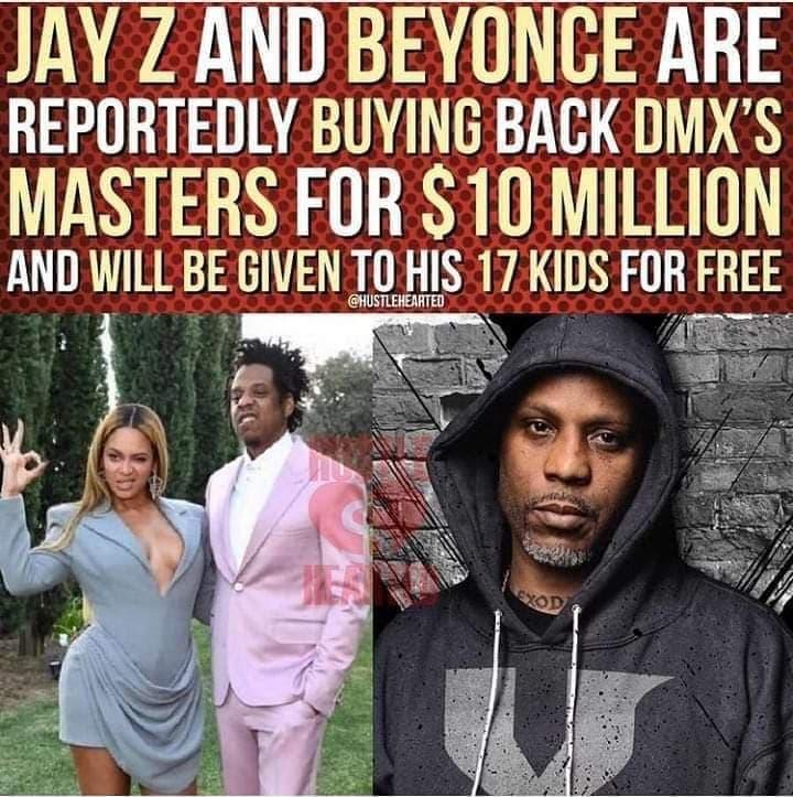 Did Jay-Z and Beyoncé buy DMX's masters