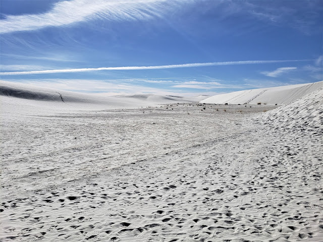 sand dunes white sands national park new mexico