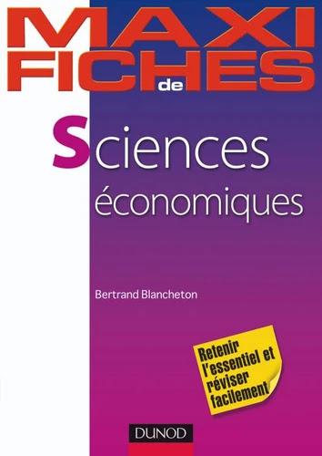Maxi fiches de Sciences économiques - 2e édition