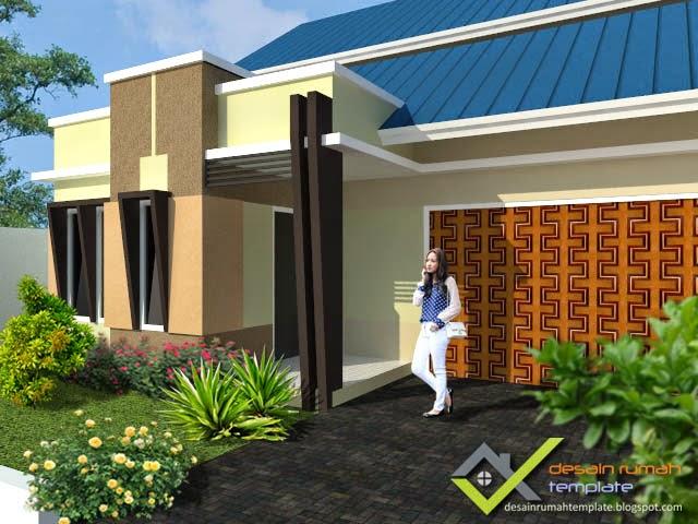 Desain Rumah Modern Kontemporer  Desain Rumah Template