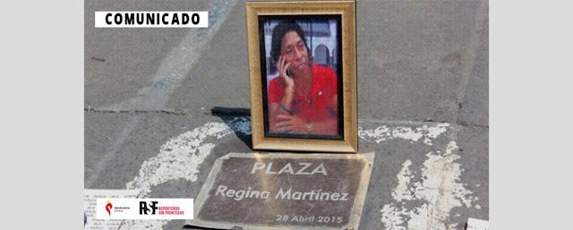 Propuesta Cívica y Reporteros Sin Fronteras refrendaron su compromiso con la revista Proceso en continuar acompañando el caso de la periodista Regina Martínez hasta lograr justicia y verdad.