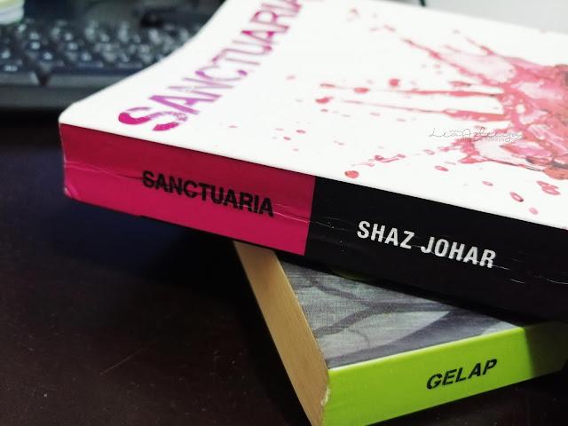 Review Novel Sanctuaria by Shaz Johar