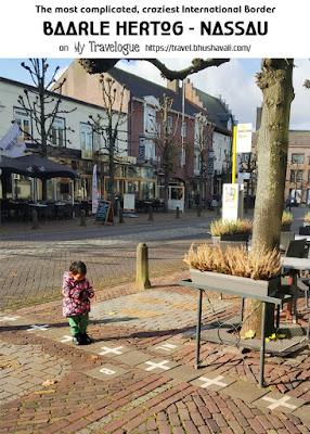 Baarle Hertog Nassau Enclaves Belgium Holland Border