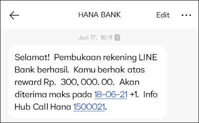 Welcome Bonus LINE Bank