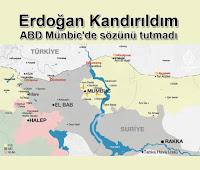 Erdoğan Kandırıldım | Amerika ABD Münbic'de sözünü tutmadı