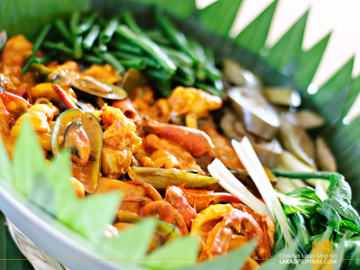 Seafood Kare Kare at VES Food Resorts and Villas Buffet in Tarlac