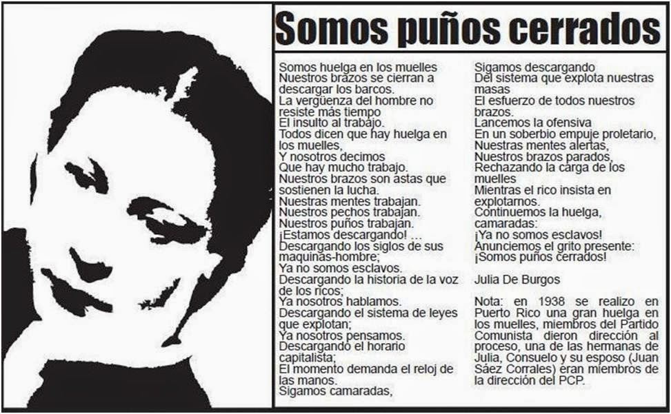 JULIA DE BURGOS (1914-1953) 100 AÑOS DE SU NATALICIO Blog