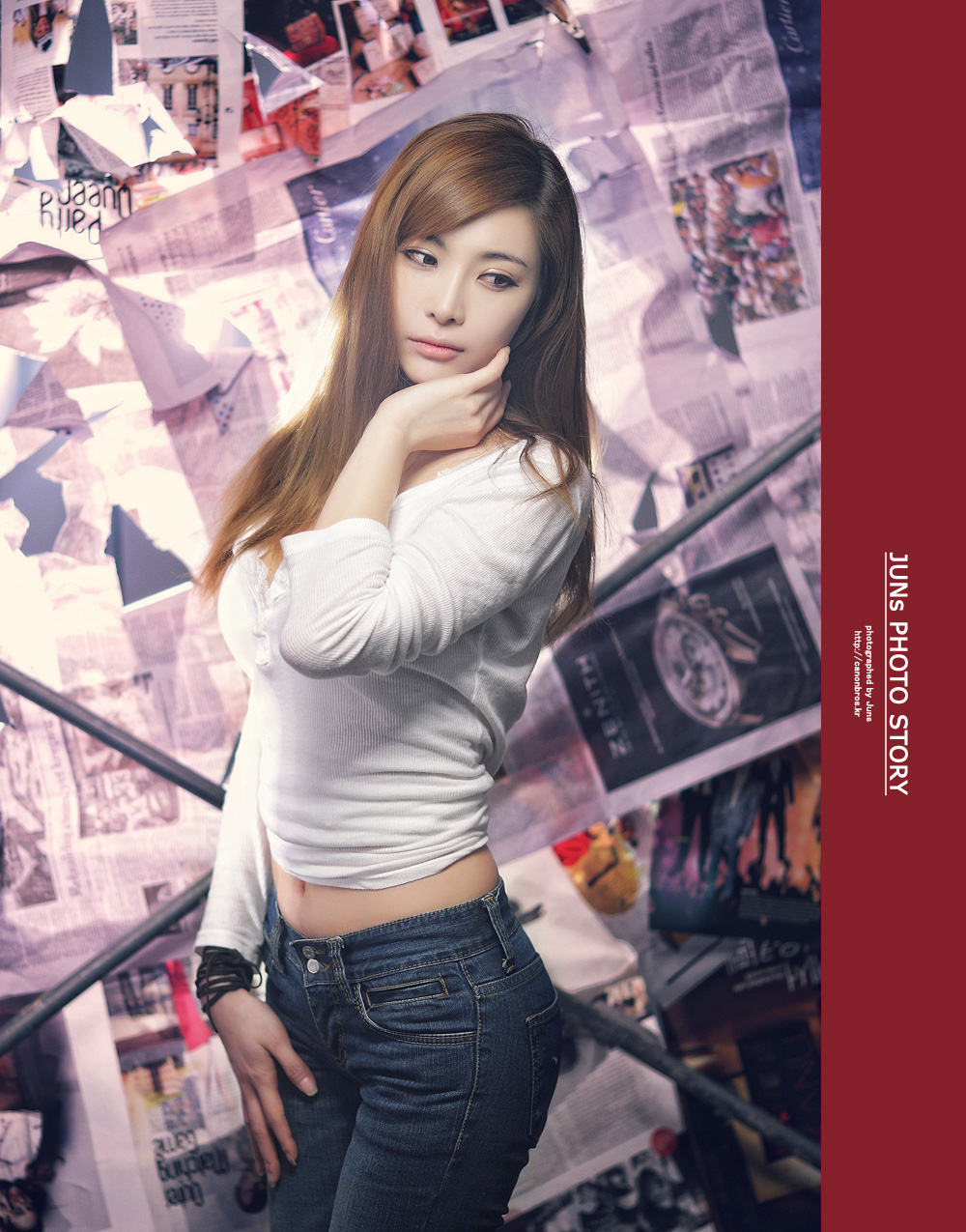 xxx nude girls: Jo Se Hee at SIDEX 2012