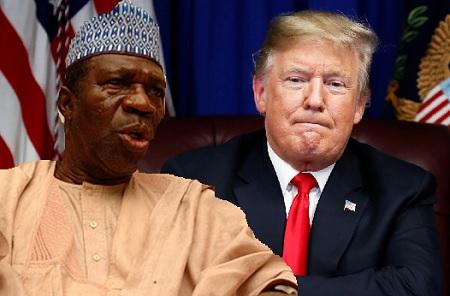 Ameh Ebute and Trump