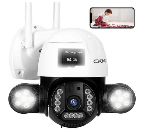 CKK 5MP Wireless Pan Tilt Zoom 4xDigital IP Camera
