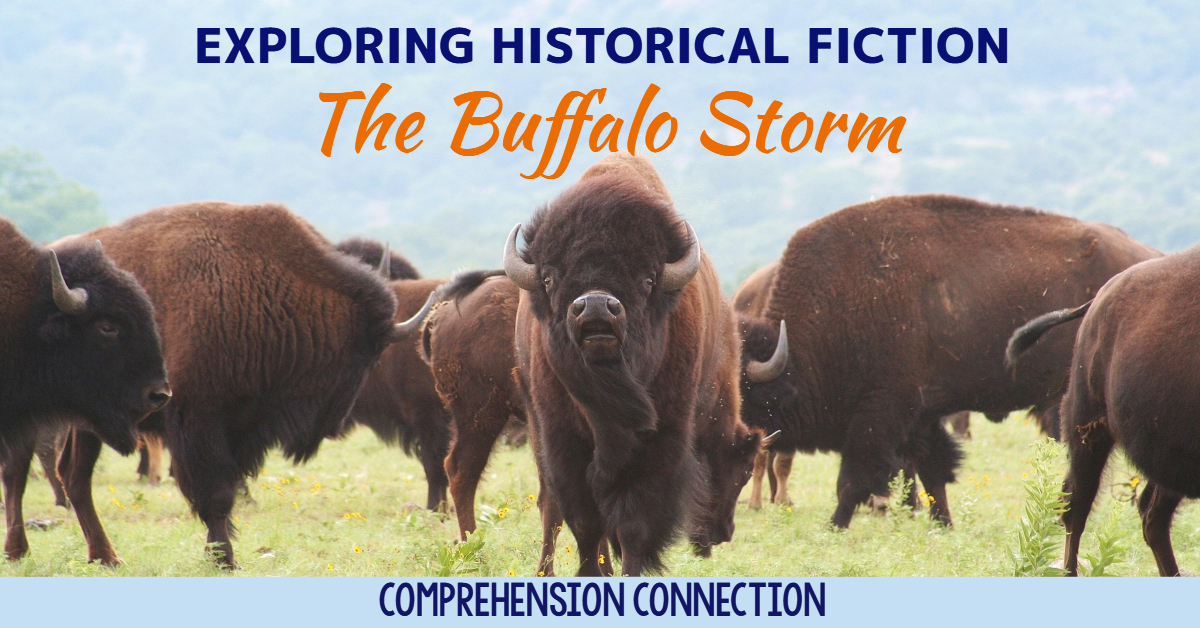 Teaching historical fiction is best done with great mentor texts. The Buffalo Storm by Kathleen Applegate is a great choice if you're modeling. This post gives information about the book and includes a free resource for your lesson.