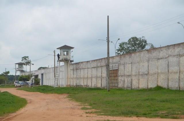 Presidiário é encontrado morto no pátio de presidio em Ji-Paraná