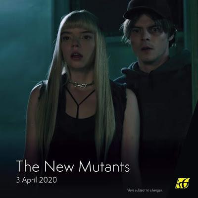 Senarai Filem Yang Akan Keluar di Panggung Wayang Tahun 2020 - The New Mutants (2020)