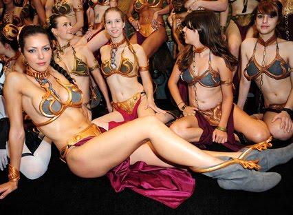 princess leia bikini coslay gilrs