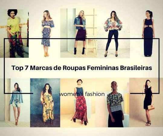 Top 7 Marcas de Roupas Femininas Brasileiras