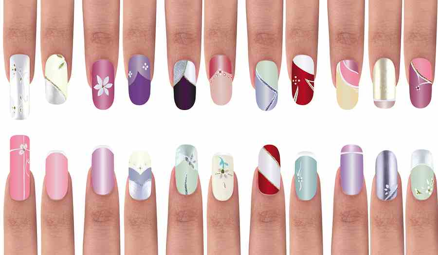 nail art nail Unhas Decoradas Ingredientes para evitar