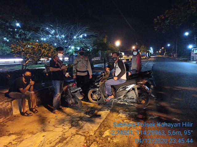Tingkatkan Patroli Malam Serta Sosialisasikan Maklumat Kapolri