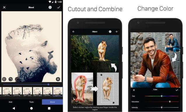 أفضل 20 تطبيق تعديل الصور لنظام الاندرويد