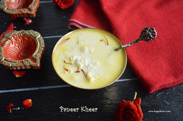 Paneer Kheer | How to make Paneer Payasam