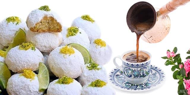 çıtır çıtır ağızda dağılan çaylı limonlu bademli kurabiye tarifi, pratik ve kolay yapımı olan kurabiyeler - www.kahvekafe.net