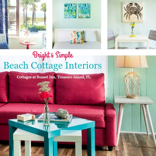 I Find These Bright And Simple Beach Cottage Interiors Inspirational!