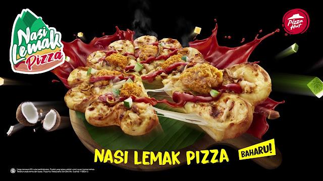pizza nasi lemak