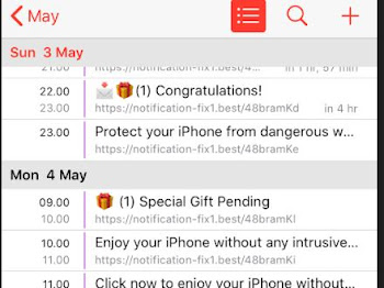 Cara Hapus Spam Notification Ads pada Kalender iPhone