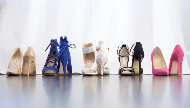 Line up of some of my fave stiletto heels