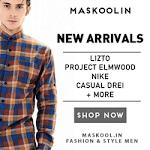 Maskoolin Fashion Pria Terlengkap Berkualitas dari Brand Terbaik