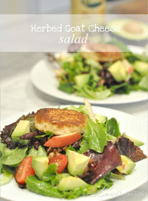 Herbed Goat Cheese Salad