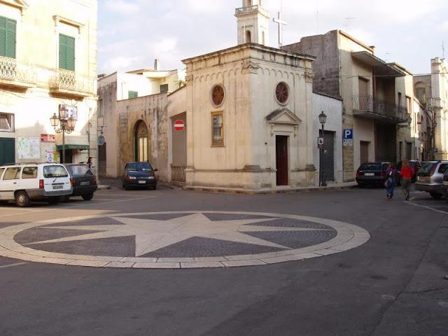 κωμόπολη-οικισμός Castrignano dei Greci