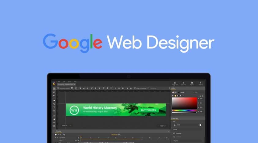 برنامج, جوجل, لتصميم, صفحات, الويب, ومواقع, الانترنت