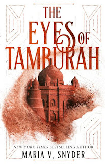 The Eyes of Tamburah by Maria V. Snyder book cover