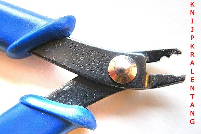knijpkralentang - crimp bead pliers