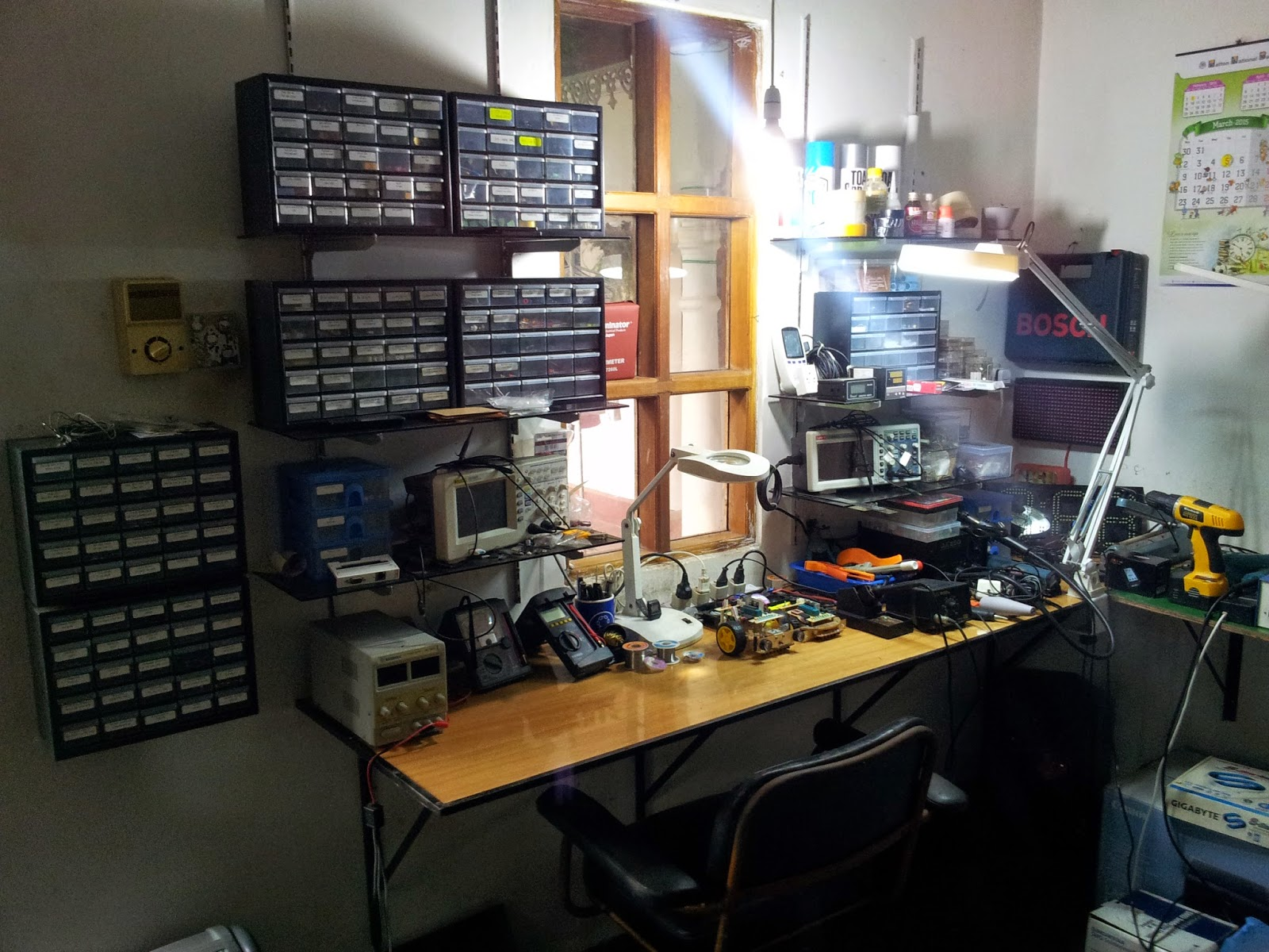 My Electronics Workbench Gsmicro
