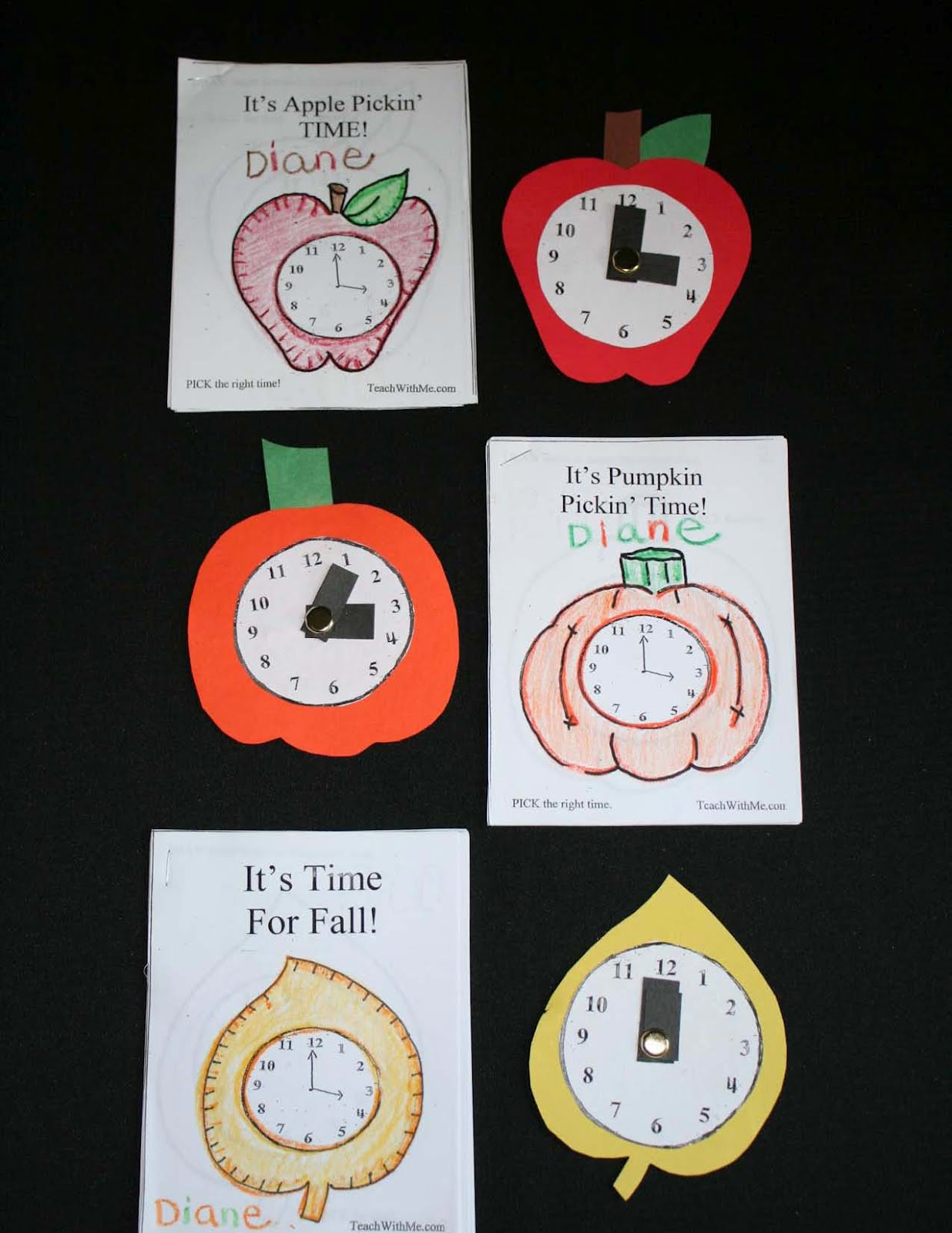 Classroom Freebies Too Mini Telling Time Booklets With