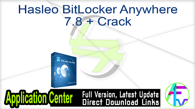 Hasleo BitLocker Anywhere 7.8 + Crack