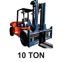 Rental Forklift 10 Ton