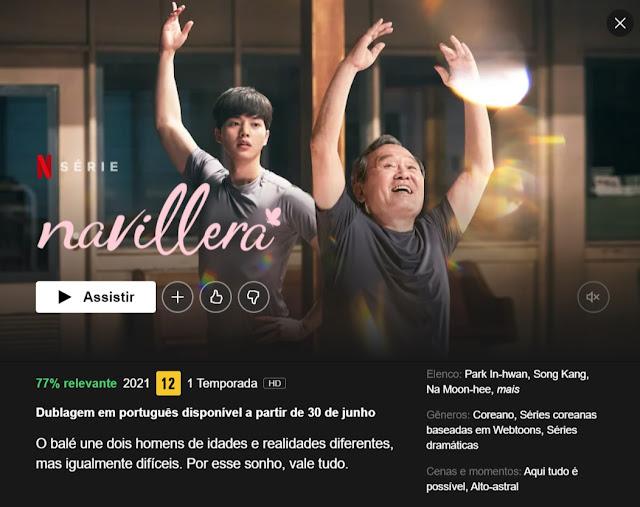 Navillera terá dublagem pela Netflix em breve