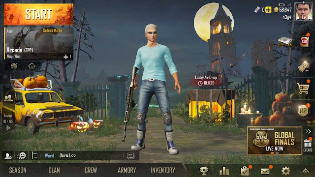 setting pubg mobile android