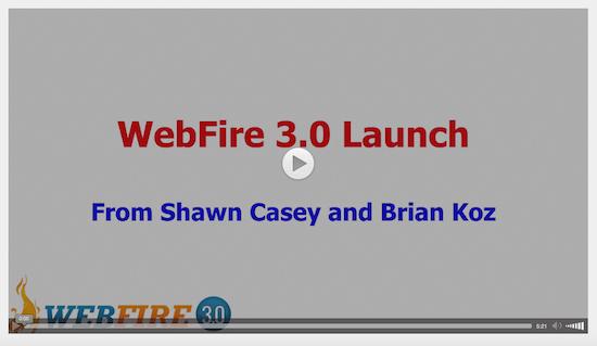 WebFire 3.0 Launch
