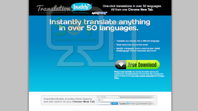 TranslationBuddy Toolbar