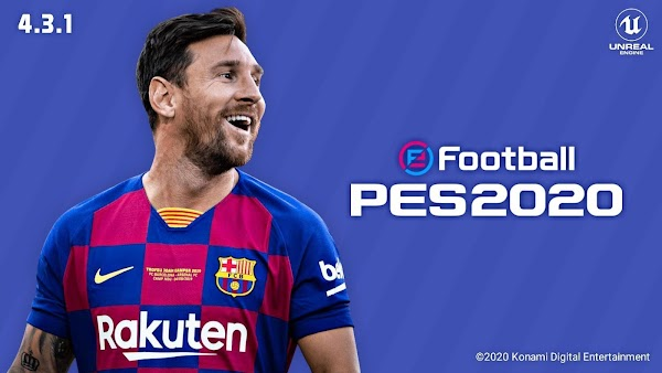 eFootball PES 2020 Mobile 4.3.1 New Kits Patch Download
