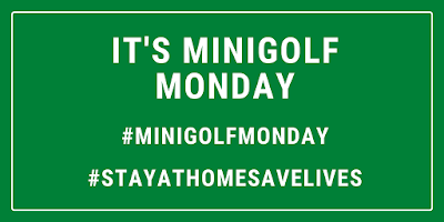 Happy Minigolf Monday - Putt at home!