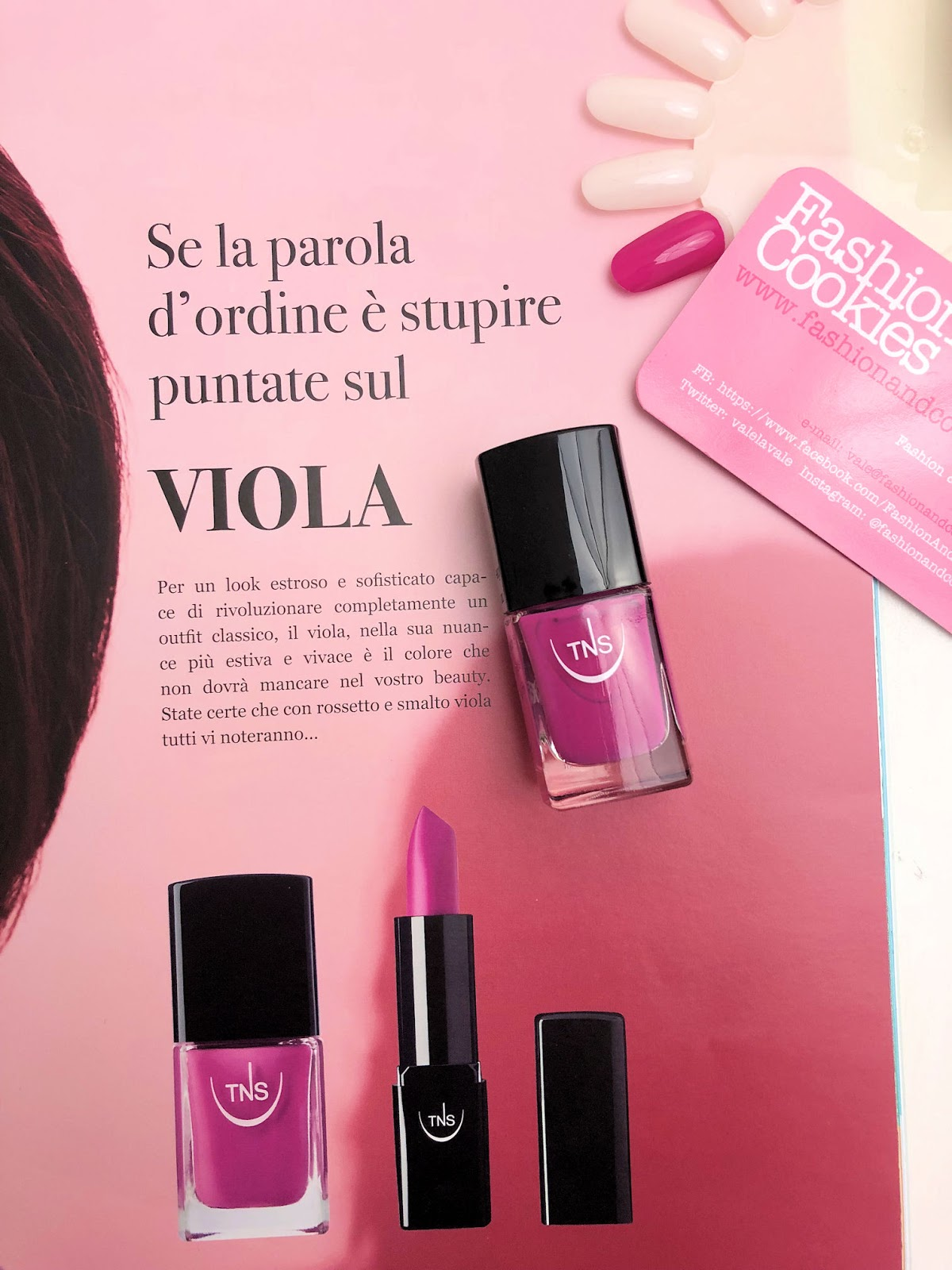 TNS Venere smalto, collezione primavera-estate 2018 su Fashion and Cookies beauty blog, beauty blogger
