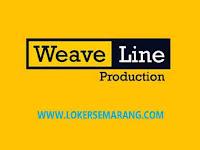 Loker Semarang Account Executive di Weave Line Production