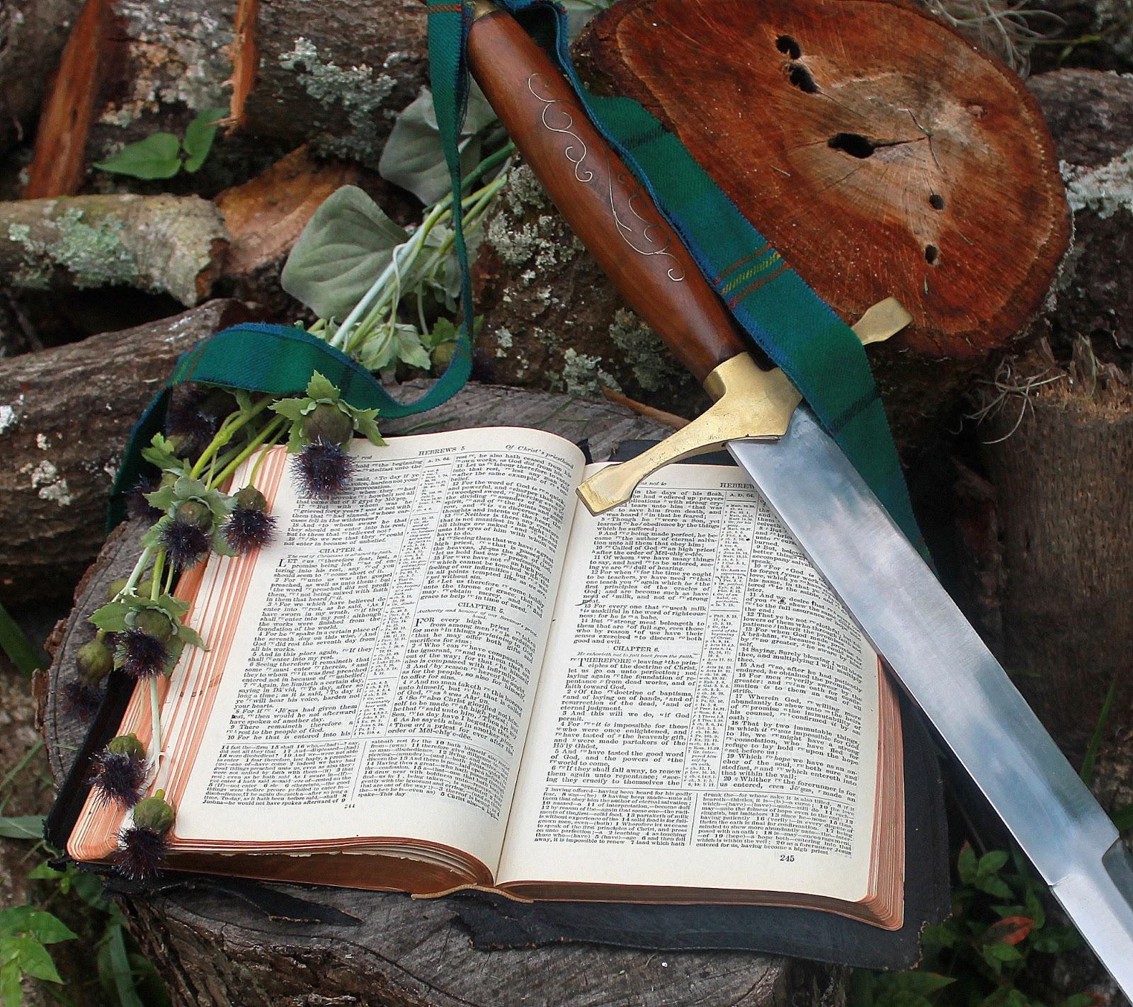 Sword In The Bible Quote: Ruth Carmichael Ellinger, The Shepherdess Speaks