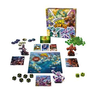 Componentes de King of Tokyo the board game