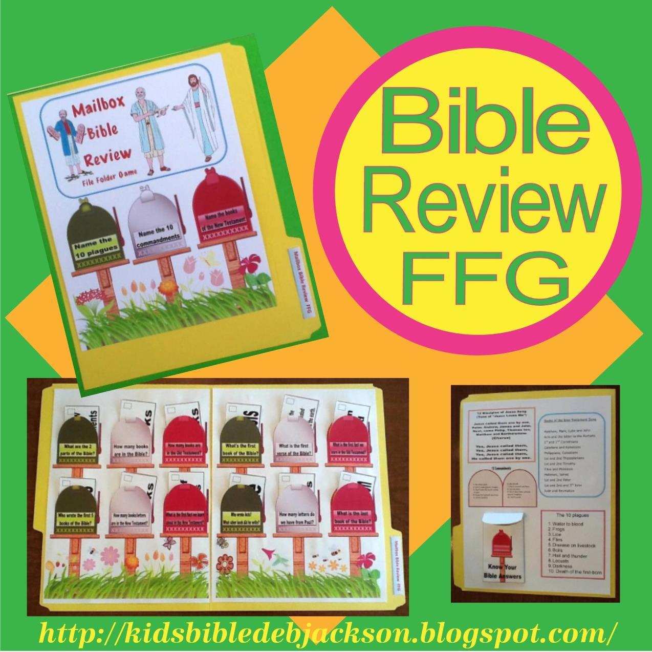 Bible Fun For Kids Mailbox Bible Review Ffg